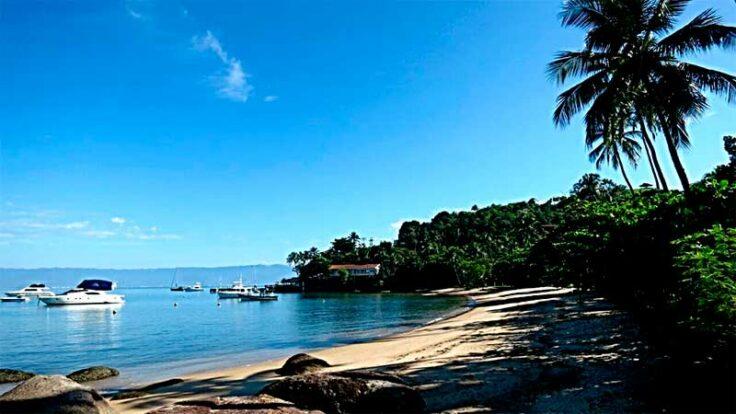 Casa na Ilhabela na Praia de Santa Tereza