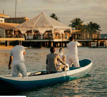 SR Zeladoria Patrimonial para Eventos - Canoa caiçara para Casamentos em Ilhabela