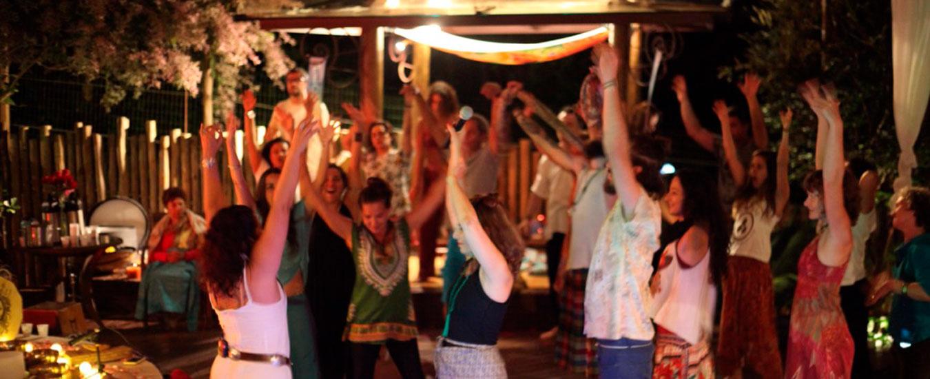 Cerimônia do Cacau e Ecstatic Dance no Templo do Ser Ilhabela
