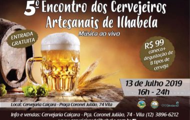 5º Encontro dos Cervejeiros Artesanais de Ilhabela
