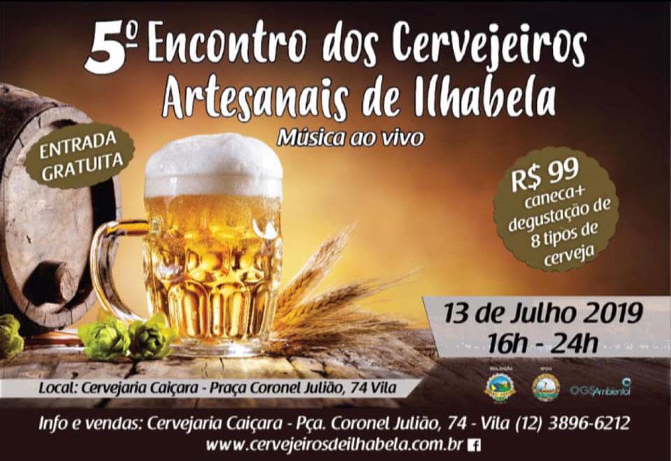 Encontro dos cervejeiros artesanais de Ilhabela