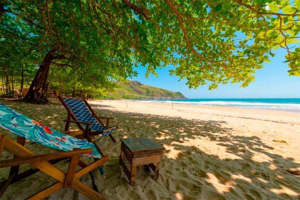 Praia do Bonete - Pousada Canto Bravo - Ilhabela