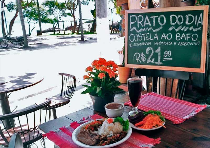 Restaurante Pôr do Sol Ilhabela - Refeições