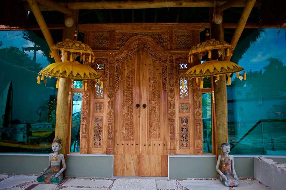Decoração Asiática Vila Kebaya - Dica de Lua de Mel em Ilhabela