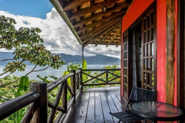 Bangalô Ilhabela - Hospedagem com Vista para o Mar no Sul da Ilha