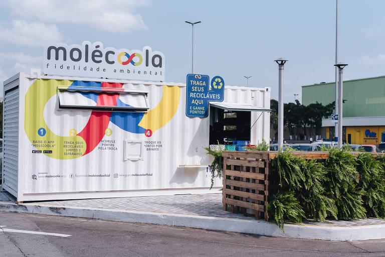 Container Molécoola fidelidade ambiental