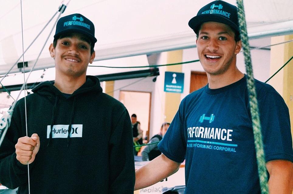 Matheus e Rafael, atletas da vela - Performance Ilhabela