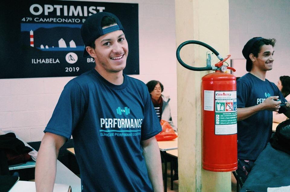 Rafael e Matheus, atletas do Iatismo, ou Vela - Performance Ilhabela