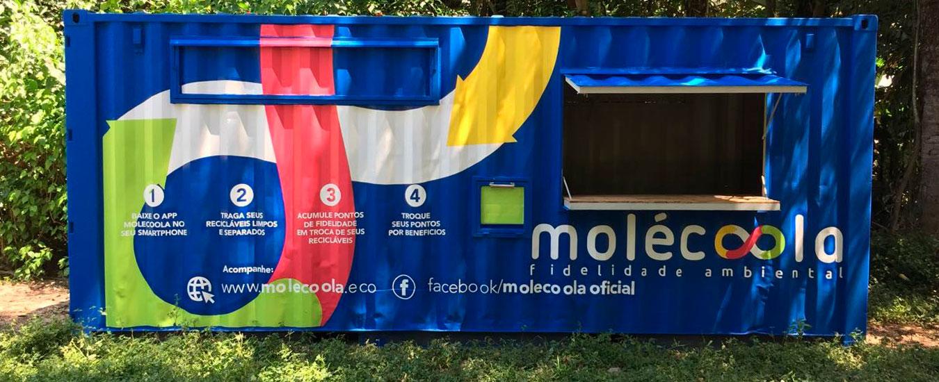 Molécoola fidelidade ambiental chega a Ilhabela no Festival Sustenta