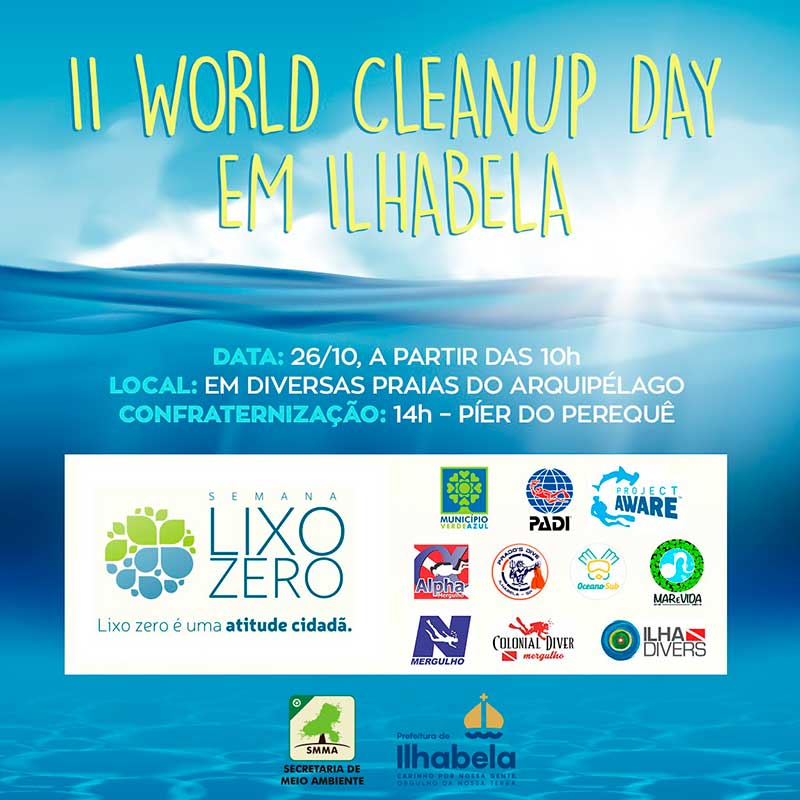 World Clean Up Day Ilhabela