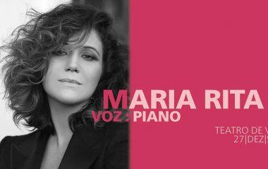 Maria Rita: voz:piano | Concertos de Ano Novo Vermelhos 2019