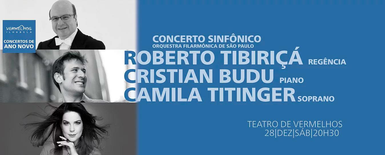 Concertos de Ano Novo - Vermelhos - Ilhabela 2019 - Orquestra Filarmônica de São Paulo