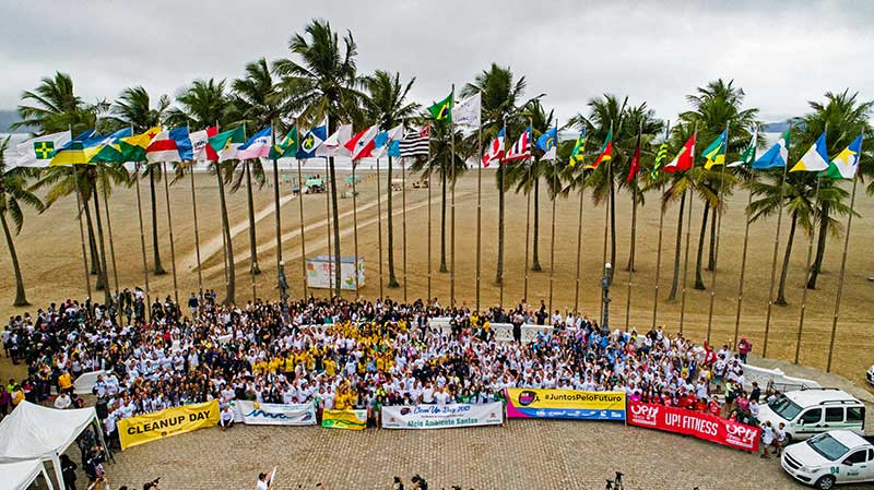 Dia Mundial de Limpeza - Limpa Brasil Let's do it!