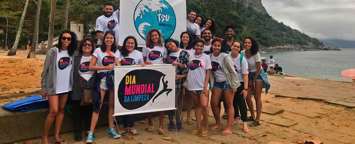 Dia Mundial de Limpeza 2020 (World Clean Up Day) será lançado com evento em Ilhabela dia 3 de janeiro de 2020