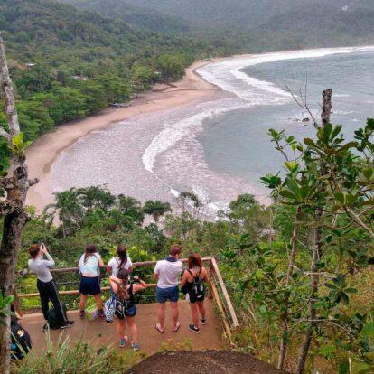 Mirante do Coração - Praia de Castelhanos - Nilton Turismo Passeios Ilhabela