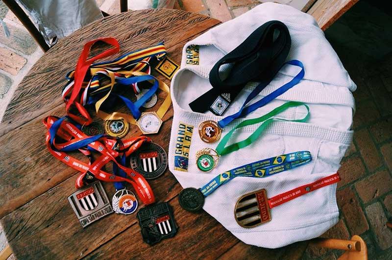 Atleta Performance - David, Judô em Ilhabela e suas medalhas