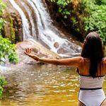 5 trilhas para iniciantes em Ilhabela - Cachoeira dos Três Tombos (Foto: Bruna Garcez)