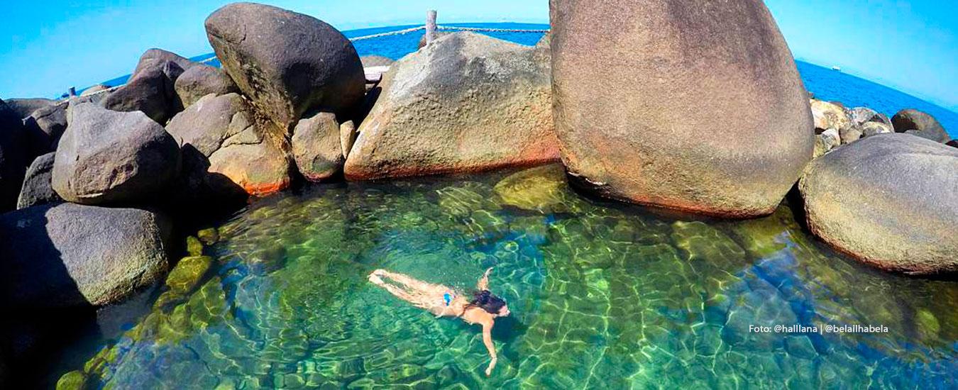 Ilhabela Secret Points - Piscinas Naturais de Ilhabela - Sul da Ilha (Foto: @halllana | @belailhabela)