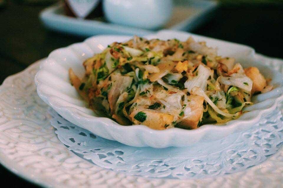 Carne de jaca - Prato Vegano do Île Bistrot em Ilhabela - Chef Tonhão