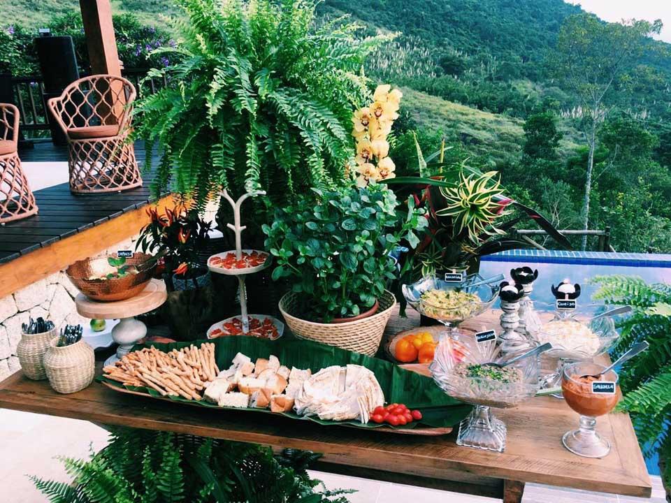 Buffet para casamentos - Atelier do Tonhão em Ilhabela
