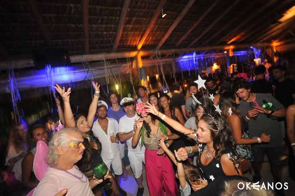 Pré-Carnaval no Okeanos em Ilhabela