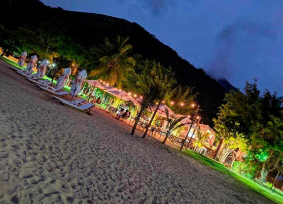 Luau pé na areia - Sereia Beach Ilhabela