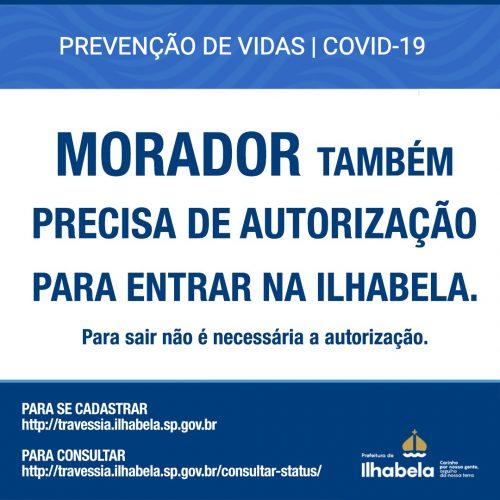 Moradores também precisam de autorização para travessia de balsa entre São Sebastião e Ilhabela