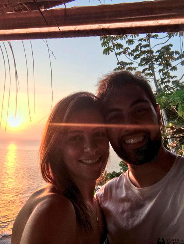 Pôr do Sol em Ilhabela - Thamires e Rafael