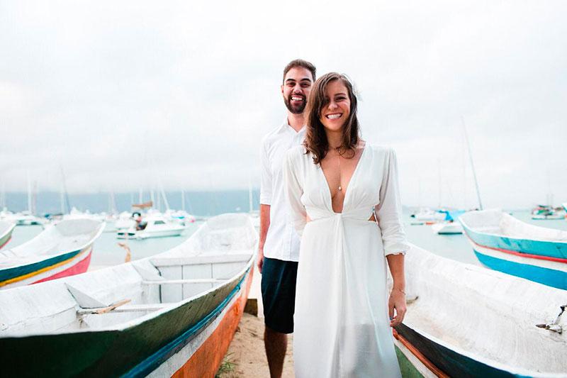 Thamires e Rafael - Ensaio pré-casamento em Ilhabela