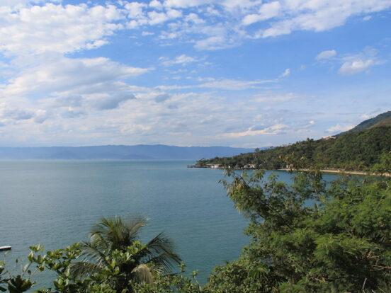 Vista a partir do Mirante do Barreiros (Imagem: Arquivo Pessoal/Alessandra Stefani)