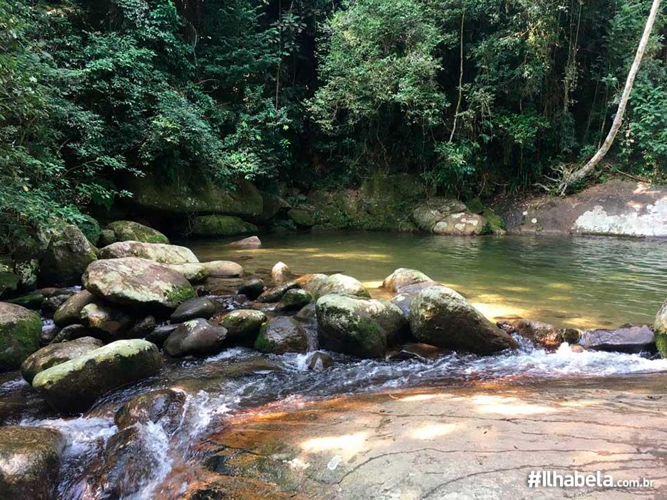 Cachoeira da Trilha da Água Branca Ilhabela
