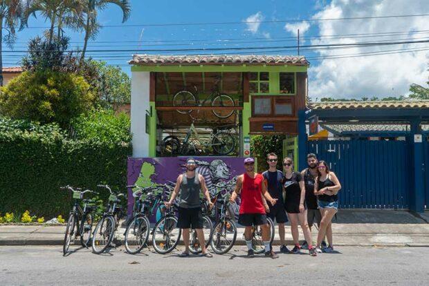 Dome Bikes - e-bikes em Ilhabela