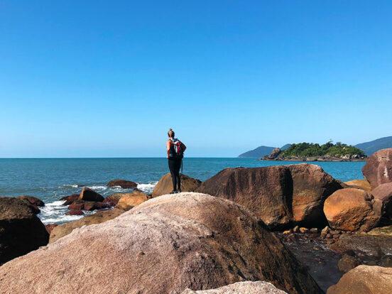 Ecoturismo em Ilhabela - Trilha Praia do Gato (foto: Acervo Ilhabela.com.br)