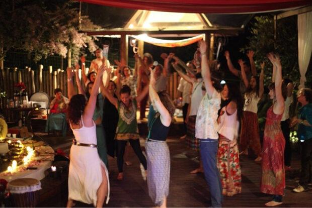Ecstatic Dance no Templo do Ser Ilhabela