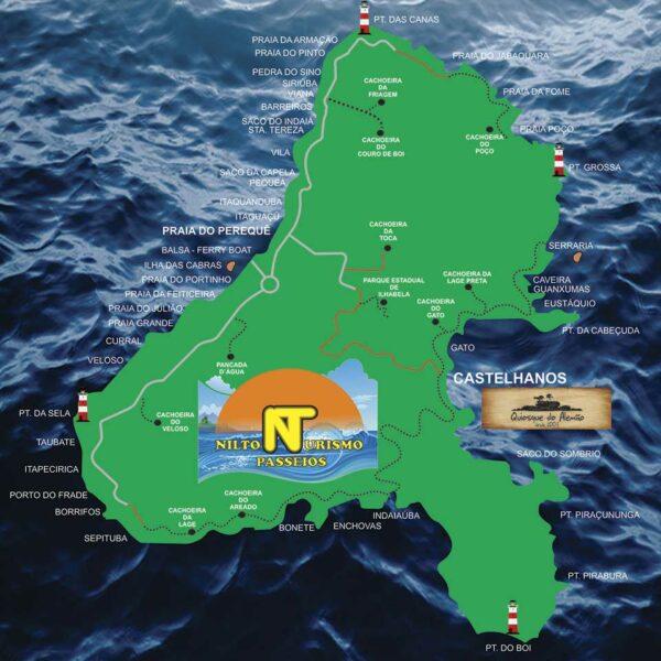 Nilton Turismo Passeios em Ilhabela