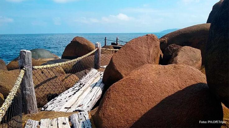 Piscina natural em Ilhabela (Foto: Hallana