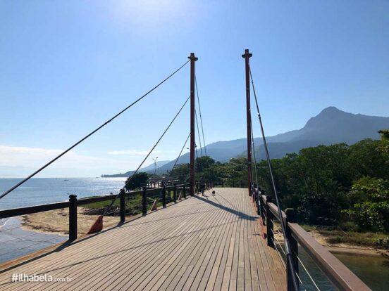 Praia da Barra Velha - Ponte Estaiada - Ilhabela
