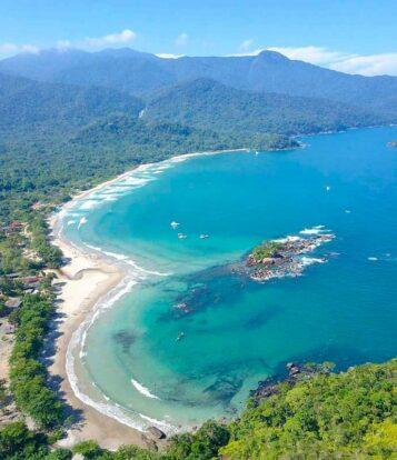 Mirante do Coração - Praia de Castelhanos (foto: reprodução instagram/@thiagomlcorrea)