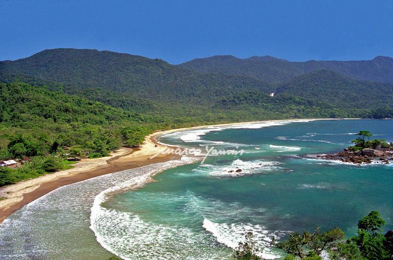Praia de Castelhanos (Imagem: Marco Yamin)