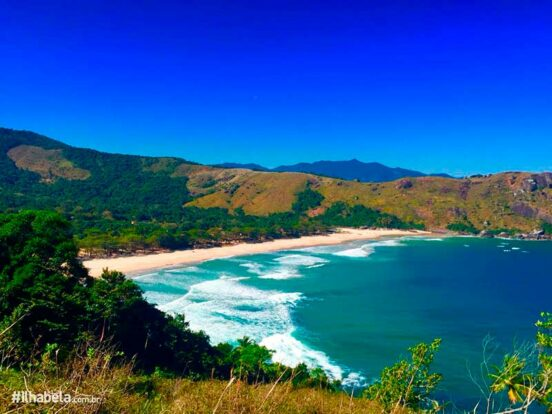 Natureza de Ilhabela - Praia do Bonete
