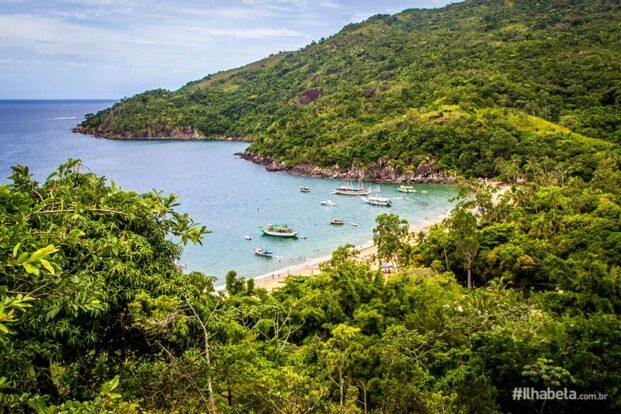 Praia do Jabaquara - Ilhabela.com.br