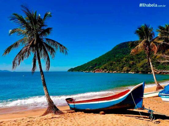 Praias quase desertas - Praia Vermelha - Ilhabela