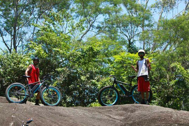 Bike elétrica para trilhas - Dome Bikes Ilhabela