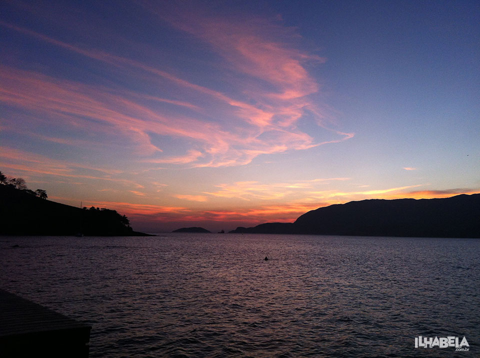 Pôr do Sol na Praia do Portinho em Ilhabela - Ilhabela.com.br