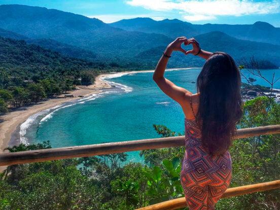 Ilhaeco Trips & Aventuras - Mirante do Coração, Praia de Castelhanos, Ilhabela