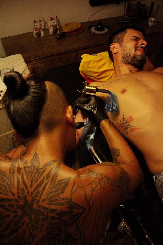 Casa Simple - Coworking Estúdio Tatuagem em Ilhabela - Marcel Matsunaka Tattoo