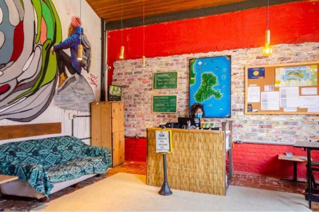 Recepção - ClanDestino Hostel Ilhabela