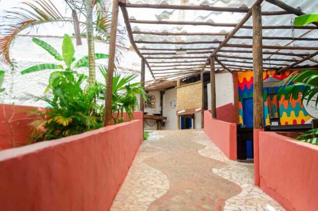 Área de convivência - ClanDestino Hostel Ilhabela