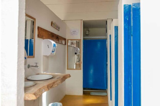 Banheiros / Vestiários - ClanDestino Hostel Ilhabela