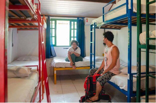 Quartos mistos - ClanDestino Hostel Ilhabela